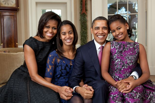 The Obamas leave the White House today.