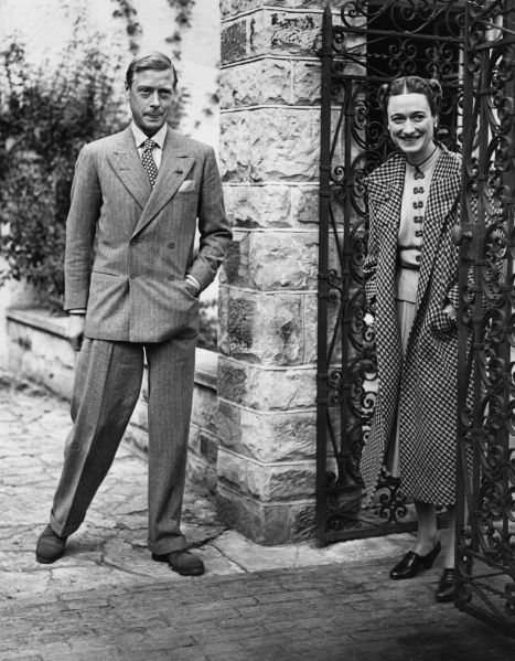 The actual Duke and Dutchess of Windsor.