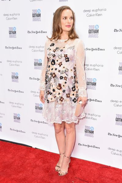 Natalie Portman in Rodarte at the Gotham Independent Film Awards.