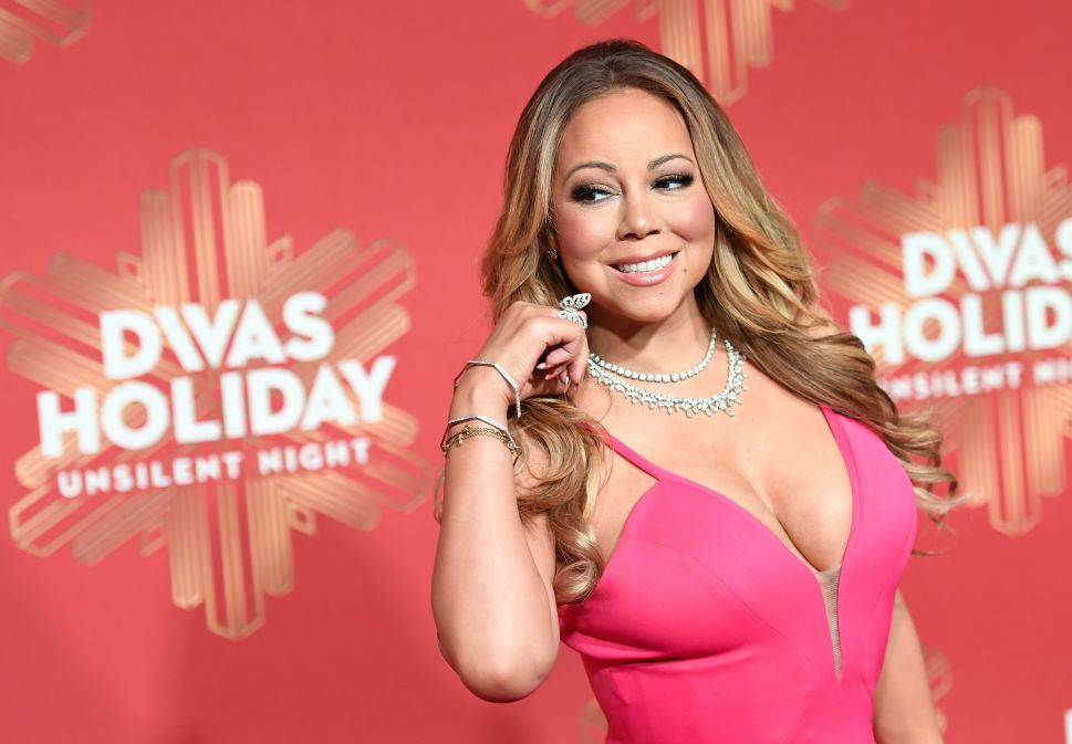 Mariah Carey attends the 2016 VH1's Divas Holiday: Unsilent Night on December 2, 2016 in New York City.