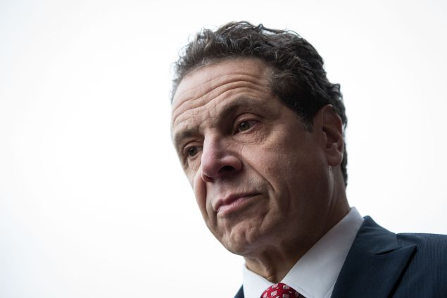 New York Governor Andrew Cuomo. January 4, 2017 in the Brooklyn borough of New York City.