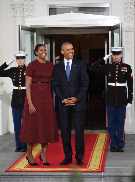Michelle Obama in Jason Wu.
