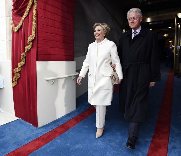Hillary Clinton in Ralph Lauren.