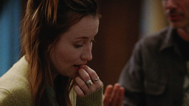 Emily Browning and Adam Horovitz in Golden Exits by Alex Ross Perry.
