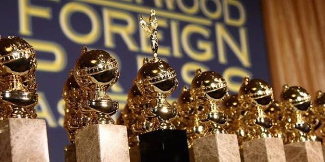 The statues for the 2017 Golden Globes.