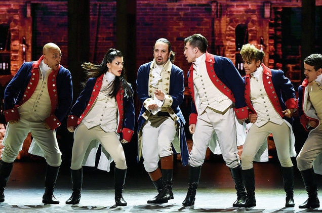 Did you see 'Hamilton' and want to tell everyone about it? Be warned, you'll keep getting ads for the show online.