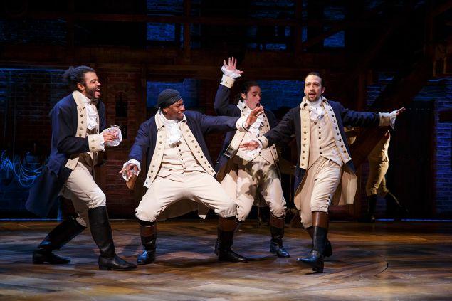 Lin-Manuel Miranda's musical adaption of 'Hamilton.'