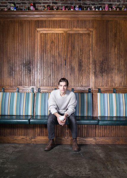 Jason Ralph, 30, originally from Texas, where he joined school theater to overcome his shyness.
