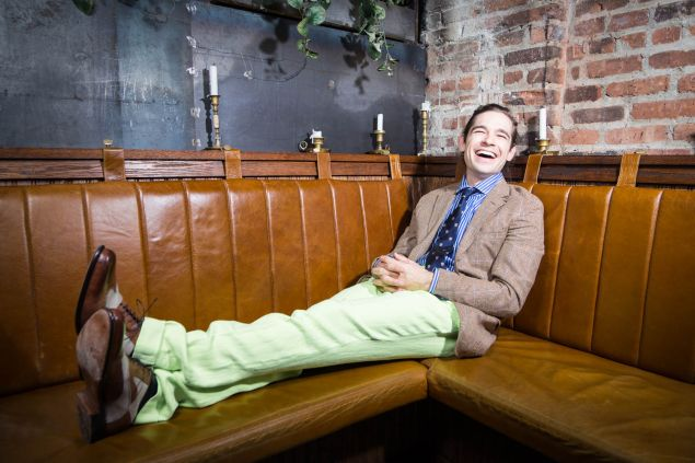 When not working on the show, Jason Ralph spends his time in New York, where he's the co-founder of a theater group.