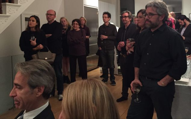 The author Malcolm Gladwell and the actor Griffin Dunne were among the hosts for the evening at the Greenwich Village home of Rachel Horovitz and Michael Jackson.