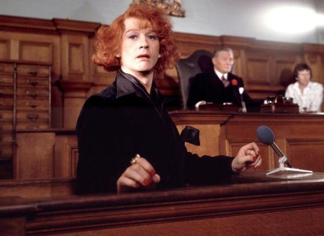 John Hurt in The Naked Civil Servant.