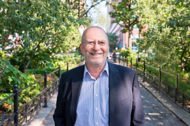 WNYC host Leonard Lopate.