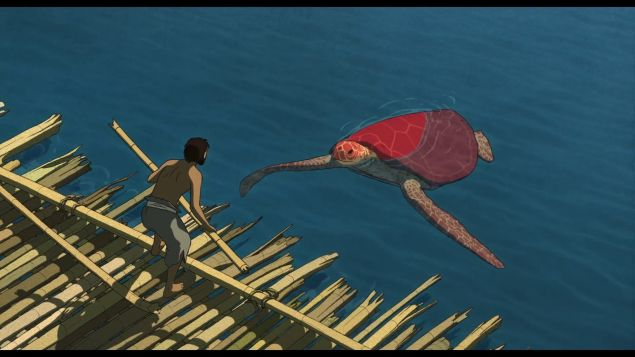 A still from The Red Turtle.