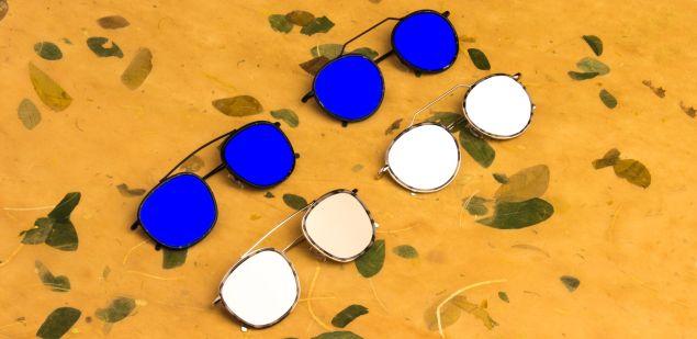 Flat lens frames from Illesteva.