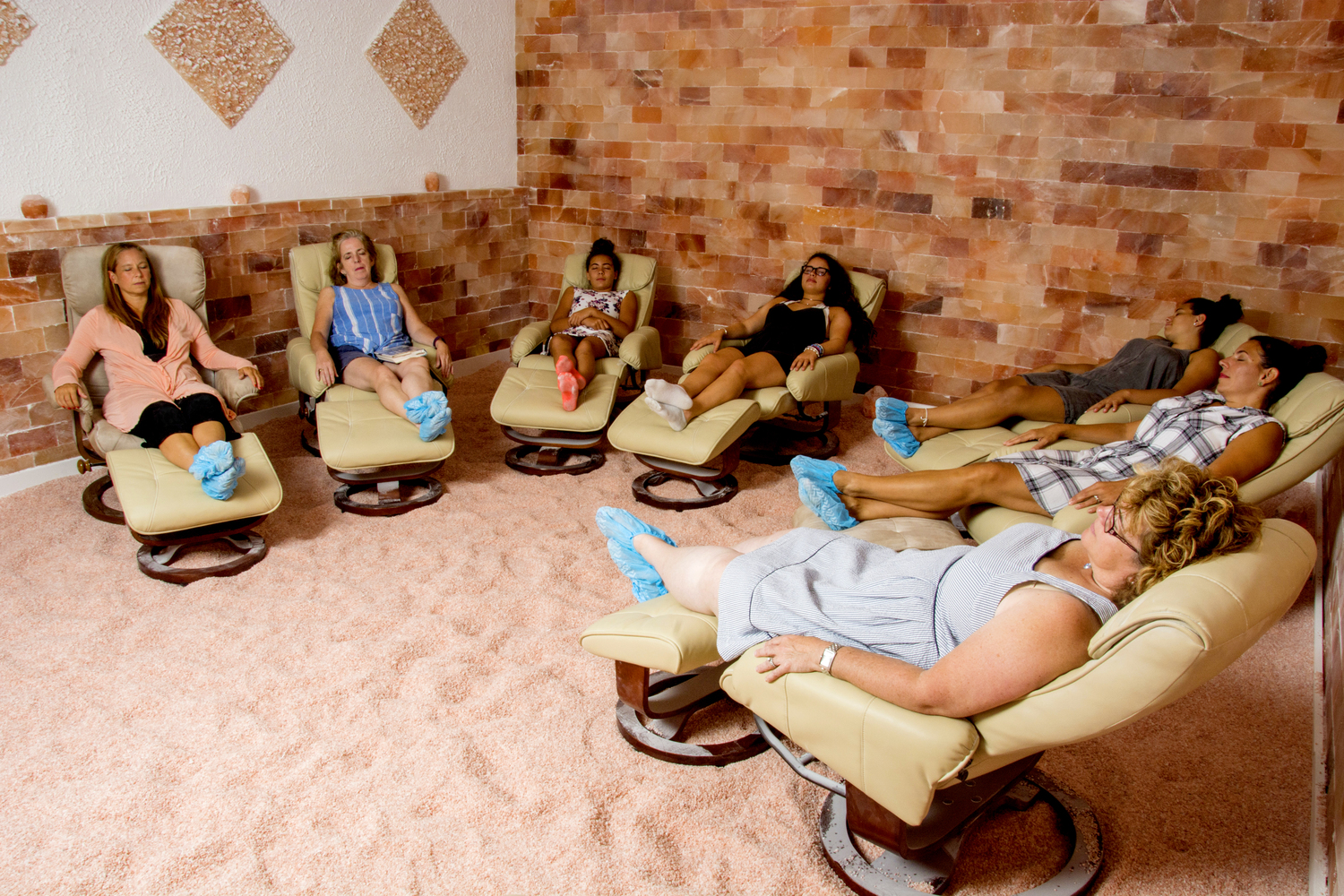 """Breathe Salt Rooms are a total """"zen zone"""" for me."""