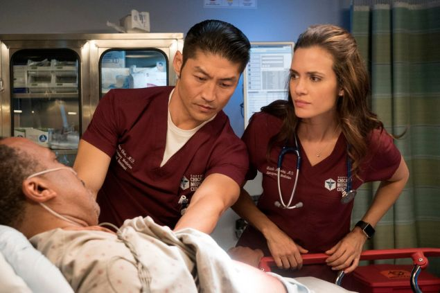 Brian Tee as Ethan Choi and Torrey DeVitto as Natalie Manning.