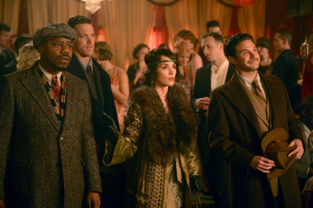 Malcolm Barrett as Rufus Carlin, Abigail Spencer as Lucy Preston and Brandon Barash as Hemingway.