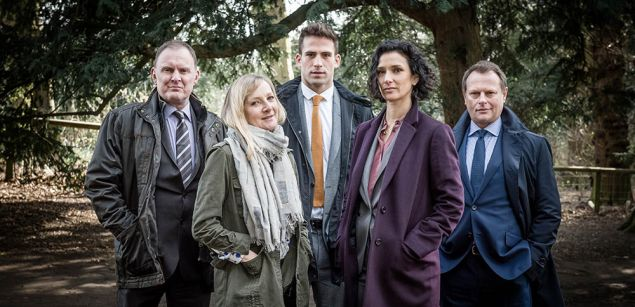 The cast of Paranoid, now streaming on Netflix.