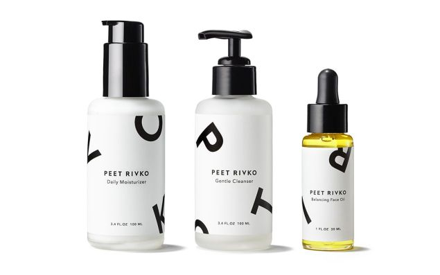 Peet Rivko's three-piece collection.