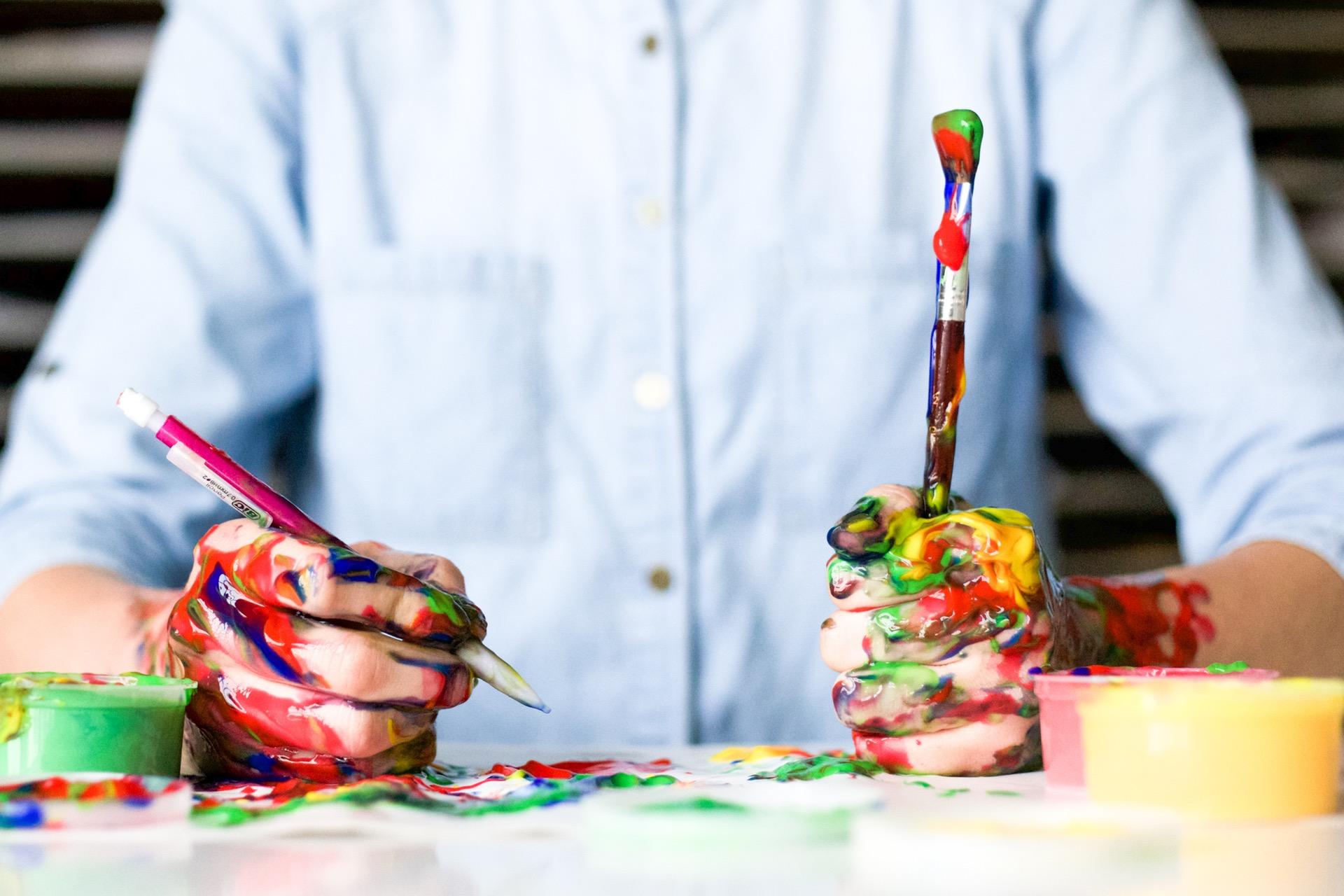 Artificial intelligence is democratizing art's creation.