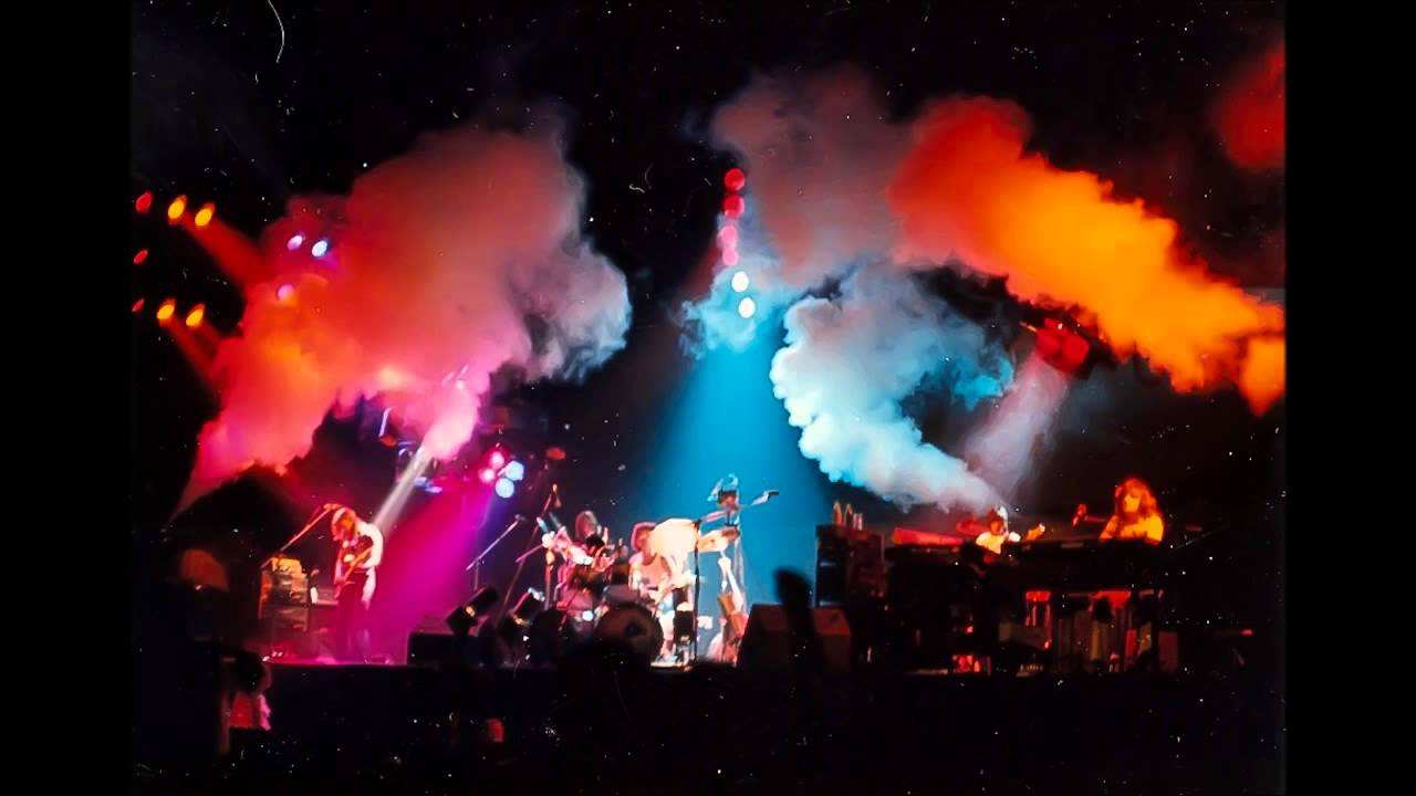 Pink Floyd performing Animals in 1977.