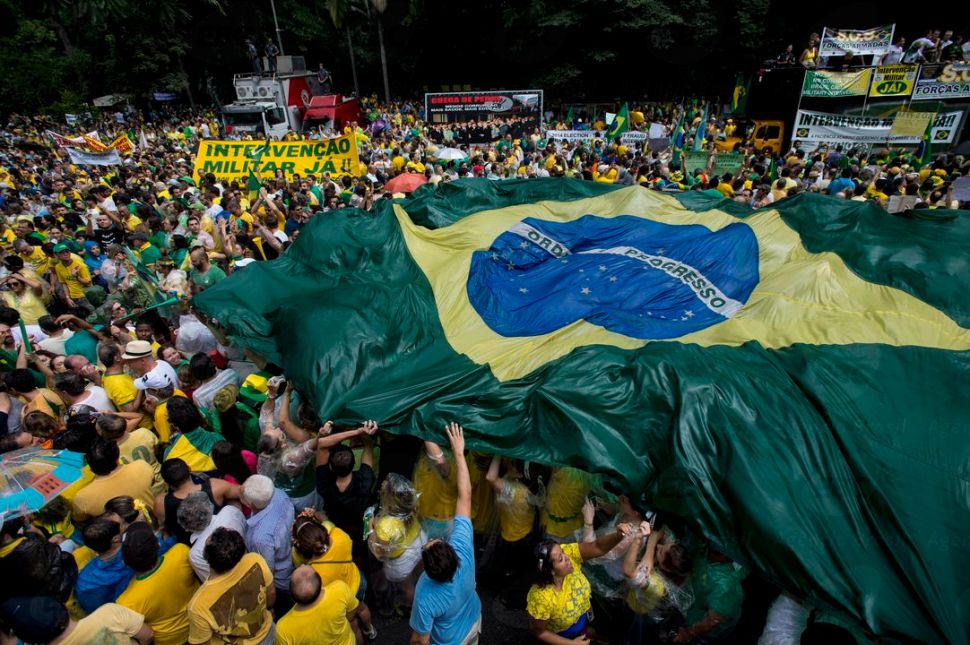 Protests rocked Brazil in 2015 and 2016.