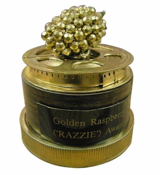 A Golden Raspberry award.