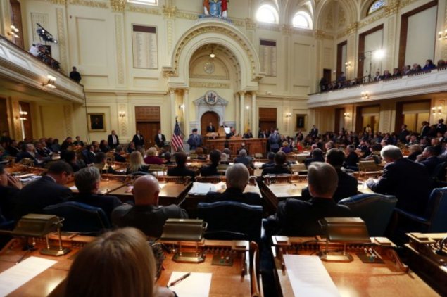 N.J. governor Chris Christie delivered his seventh state of the state address Tuesday.