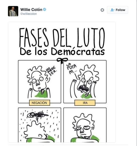 El tweet de Colón.