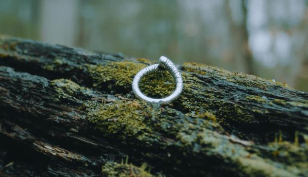 The 3D-printed version of Erlander's ring.