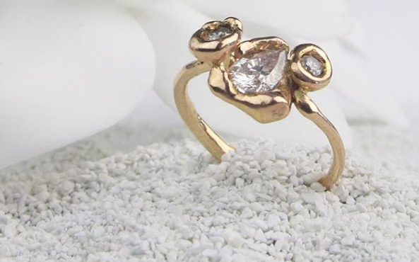 A one-of-a-kind ring from Blair Lauren Brown is so thoughtful.