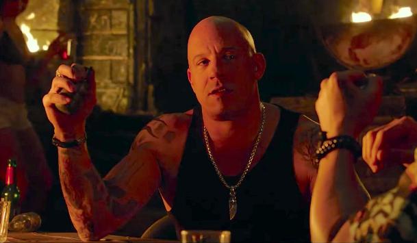 Vin Diesel as Xander Cage.