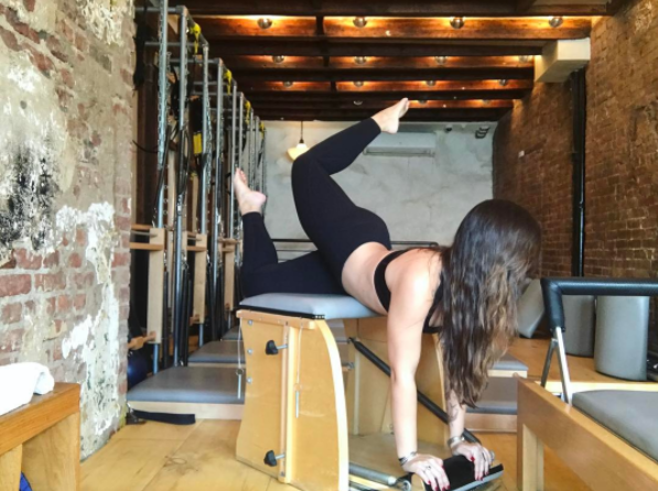 Catherine Chambers at Plank Pilates.