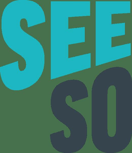 Logo for the streaming app SeeSo.