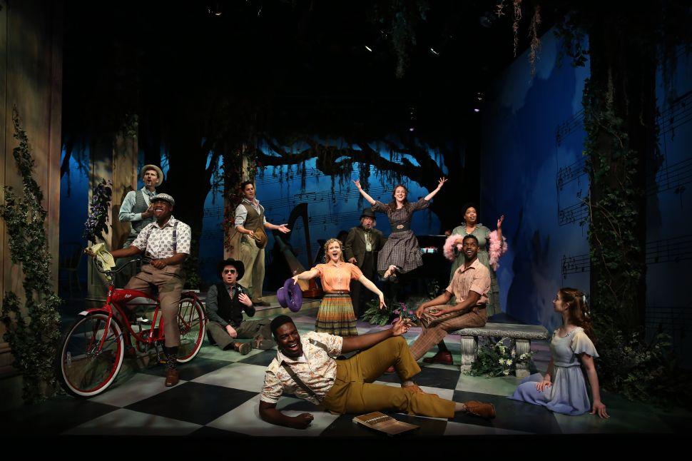 The cast of Finian's Rainbow