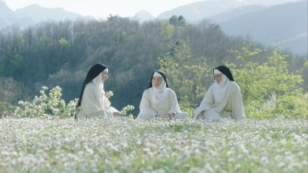 Alison Brie, Aubrey Plaza and Kate Micucci in The Little Hours.