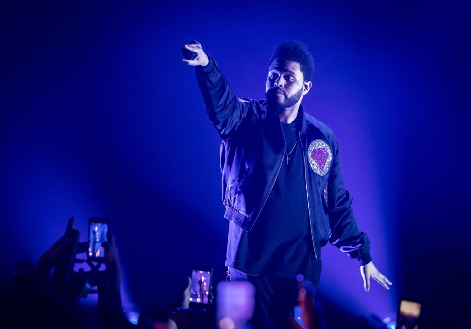 The Weeknd set the tone at The Cosmopolitan.