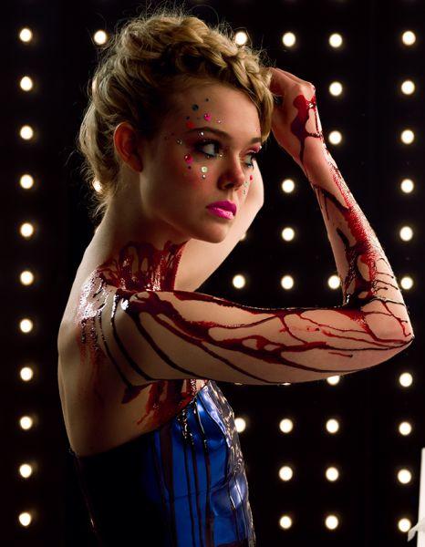 Elle Fanning in The Neon Demon.