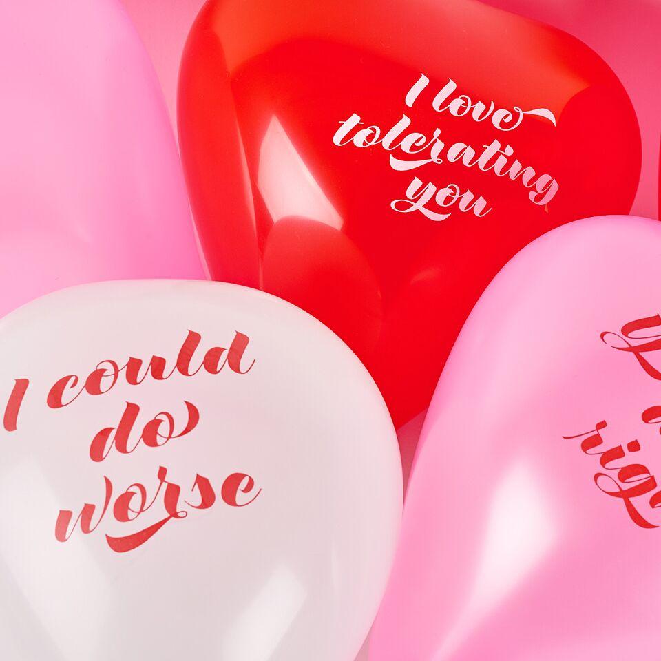 Lukewarm balloons.