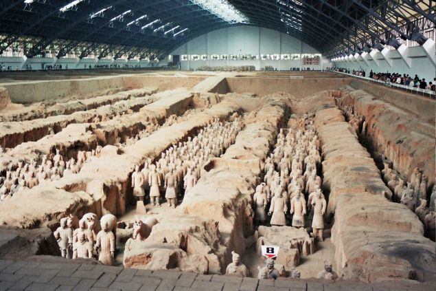 "The real ""Terracotta Warriors."""