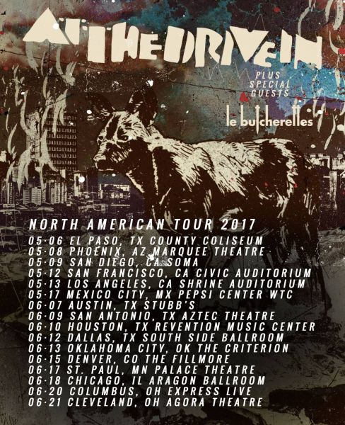 Tour Date Poster
