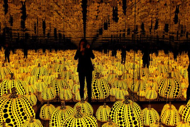 Yayoi Kusama's All the Eternal Love I Have for the Pumpkins.