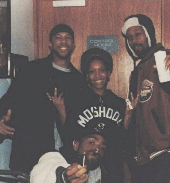 battery-studio-in-ny-1996-while-mixing-baduism-com-badu-rza-meth