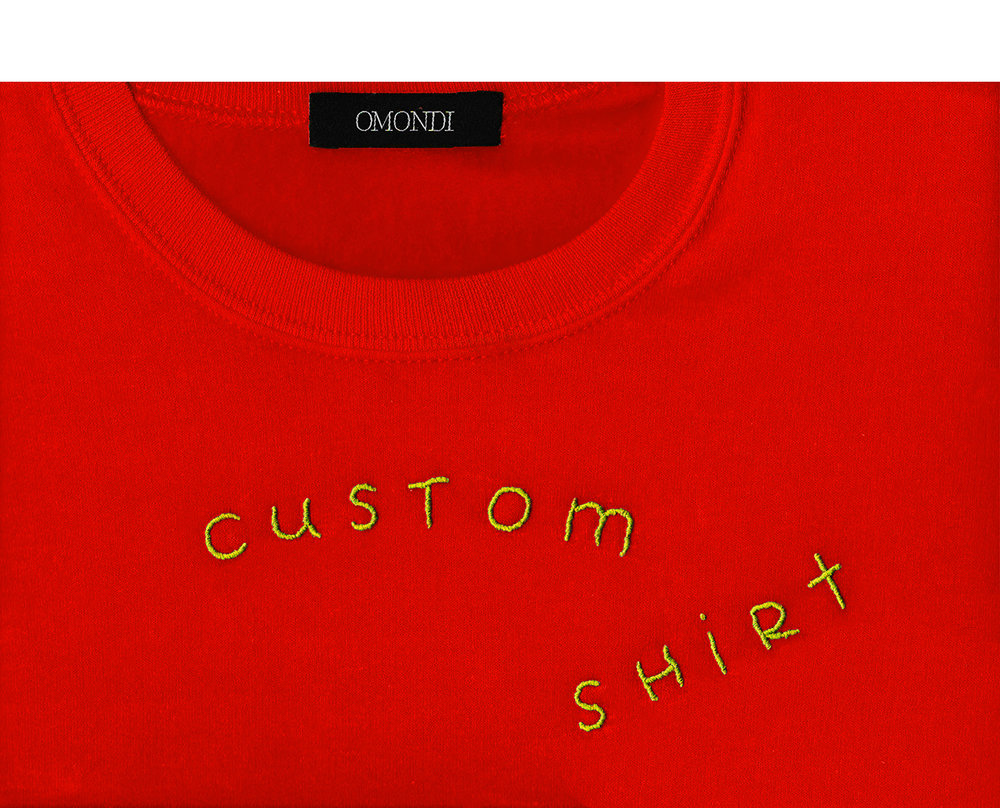 The custom shirt trend.