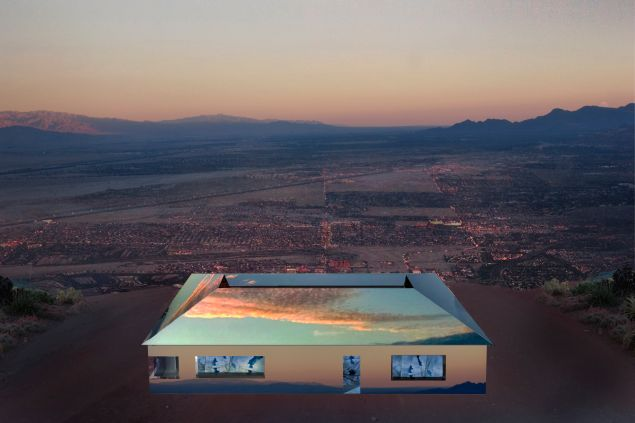 Mirage by Doug Aitken (rendering).
