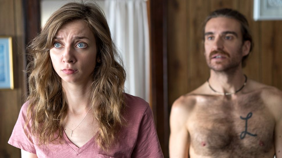 Lauren Lapkis as Pete's soon to be ex-wife