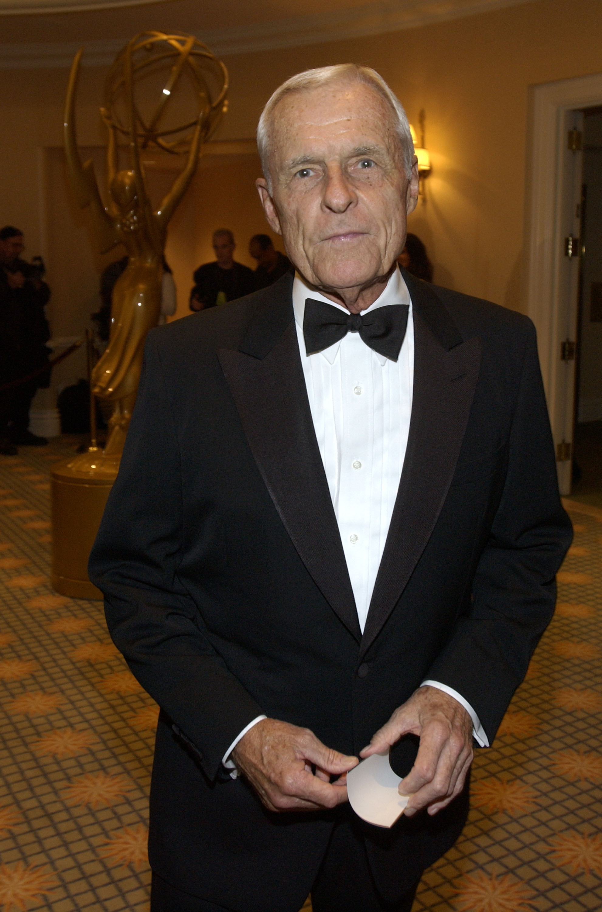 Television executive Grant Tinker in 2002.