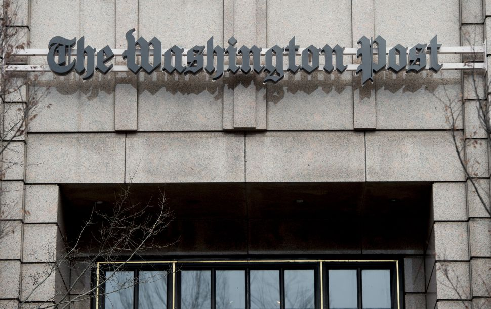 The headquarters for The Washington Post.
