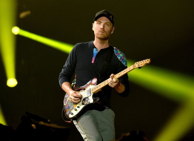 Coldplay lead guitarist Jonny Buckland is renting out one of his Astor Place condos.
