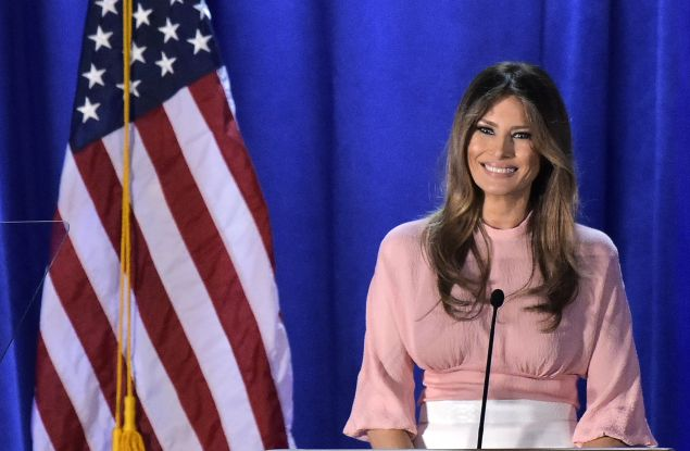 Melania Trump plans on maintaining Michelle Obama's famous vegetable garden.